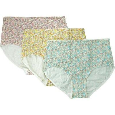 ワコール Wacoal レディース ショーツのみ インナー・下着 New Opening! Gloria Flora Maxi Panty 3-In-1 Pack (Pn6635) Assorted