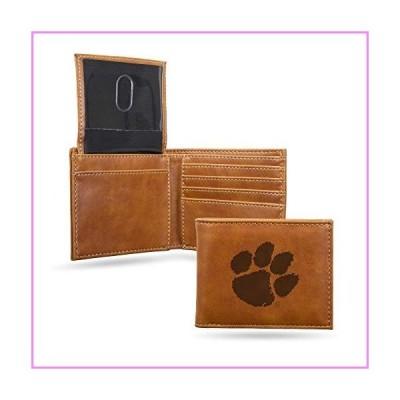NCAA Rico Industries Laser Engraved Billfold Wallet, Clemson Tigers【並行輸入品】