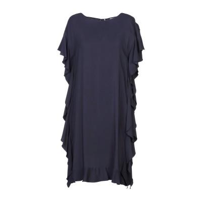SEVENTY SERGIO TEGON ミニワンピース&ドレス ダークブルー 42 レーヨン 97% / ポリウレタン 3% ミニワンピース&ドレス