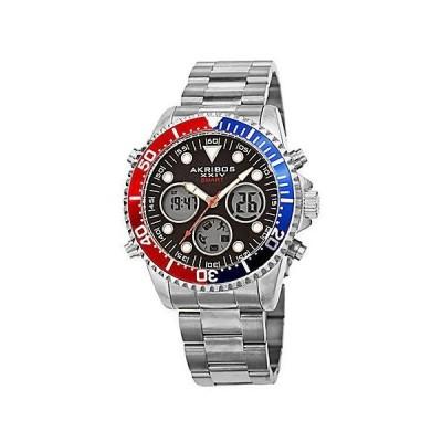 メンズ アクセサリー 時計 Akribos XXIV Men's Stainless Steel Watch