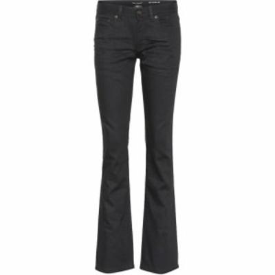 イヴ サンローラン Saint Laurent レディース ボトムス・パンツ Stretch-cotton bootcut pants Noir