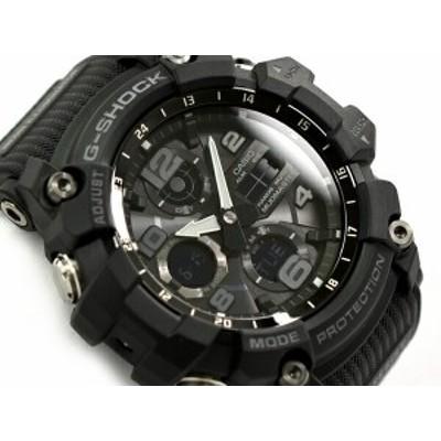 G-SHOCK Gショック ジーショック MUDMASTER 逆輸入海外モデル カシオ CASIO アナデジ ソーラー 腕時計 ブラック GSG-100-1ADR GSG-100-1A