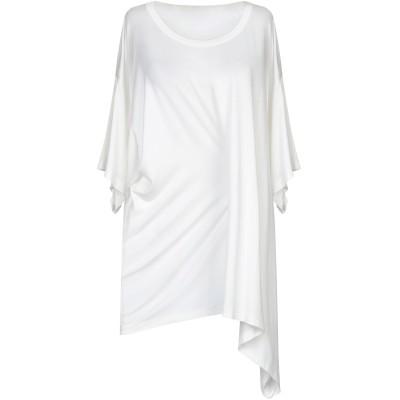 MM6 メゾン マルジェラ MM6 MAISON MARGIELA T シャツ ホワイト M キュプラ 95% / ポリウレタン 5% T シャツ