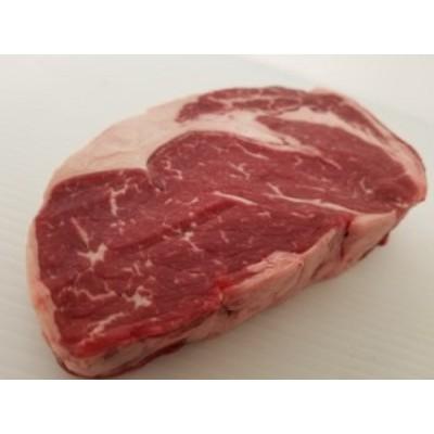 数量限定 黒毛和牛交配種 リブロースステーキ 約400g~ 長期穀物肥育最高品質牛の味の違いを是非お試しください。