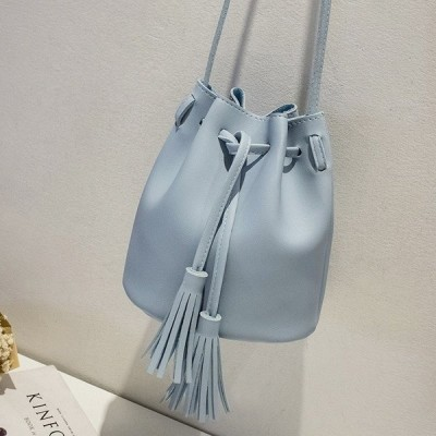 2018 New 女性 Bag Japan Style Fringes バッグ For 女性 2018 Drawstring Buckets Single 女性