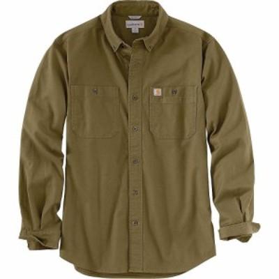 カーハート Carhartt メンズ シャツ トップス Rugged Flex Rigby LS Work Shirt Military Olive