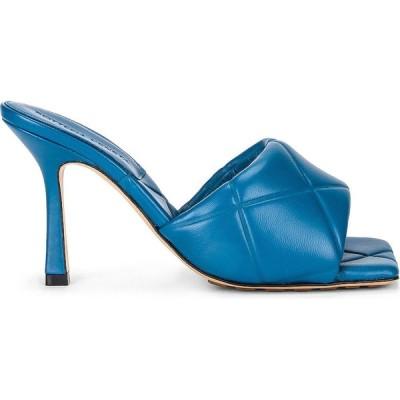 ボッテガ ヴェネタ Bottega Veneta レディース サンダル・ミュール シューズ・靴 quilted leather sandals Pacific