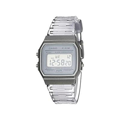 Casio クォーツ腕時計 樹脂ストラップ付き グレー 20 (モデル:F-91WS-8CF)