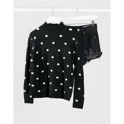 ブレーブソウル レディース ニット・セーター アウター Brave Soul dot sweater