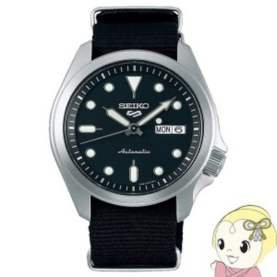 【逆輸入品】 SEIKO 5 SPORTS 腕時計 自動巻き 100M防水 SRPE67K1