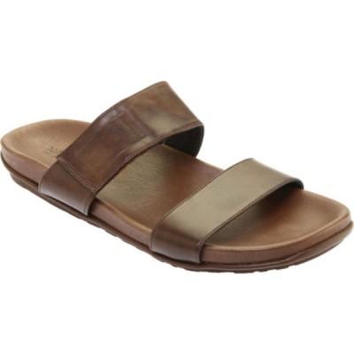 ナオト サンダル シューズ メンズ Maldive Hook and Loop Slide (Men's) Pecan Brown Leather
