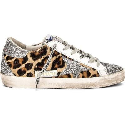 ゴールデン グース Golden Goose レディース スニーカー シューズ・靴 Superstar Sneaker Silver/Brown Black Leopard