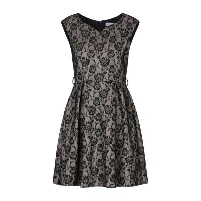 リナシメント RINASCIMENTO ミニワンピース&ドレス ブラック L ポリエステル 94% / ポリウレタン 6% ミニワンピース&ドレス