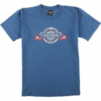 90年代 ハーレーダビッドソン バイクTシャツ USA製 L /eaa072879
