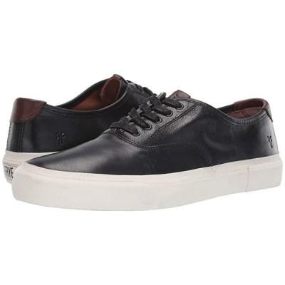 フライ Ludlow Bal Oxford メンズ スニーカー 靴 シューズ Black/White Waxed Full Veg