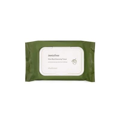 Innisfree/イニスフリー オリーブ・リアル・クレンジング・ティッシュ(Olive Real Cleansing Tissue)[海外直送品]