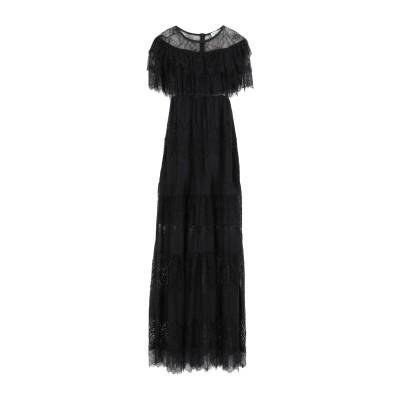 オディエアモ ODI ET AMO ロングワンピース&ドレス ブラック XS ポリエステル 98% / ポリウレタン 2% ロングワンピース&ドレス