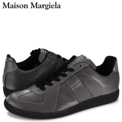 メゾンマルジェラ MAISON MARGIELA レプリカ スニーカー メンズ REPLICA LOW TOP シルバー S57WS0236