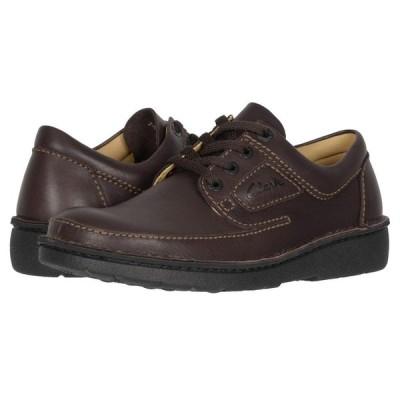 クラークス Clarks メンズ スニーカー シューズ・靴 Nature II Brown Leather