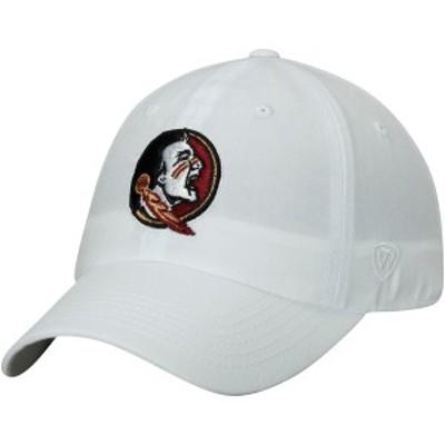 トップ・オブ・ザ・ワールド メンズ 帽子 アクセサリー Florida State Seminoles Top of the World Primary Logo Staple Adjustable Hat