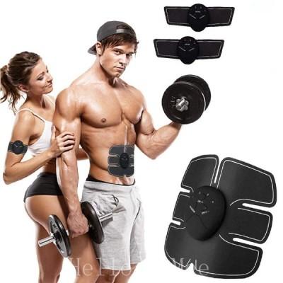 【2021増強版】EMS腹筋ベルト USB充電式 液晶表示 腹筋トレーニング 筋トレ ダイエット器具 お腹 腕 腿 腰 多部位対応 男女兼用  説明書