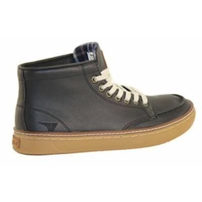 【新品】[ゴーラ] ピーク レザー ブーツ Gola PEAK LEATHER ワークブーツ ブラック ZCMA302 UK9