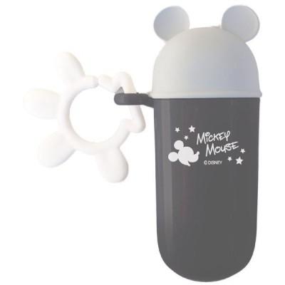錦化成 NEW ミッキーマウス スナックケース スリム  GR 食器 携帯用  子供用 幼児用 おでかけ 旅行 ディズニー