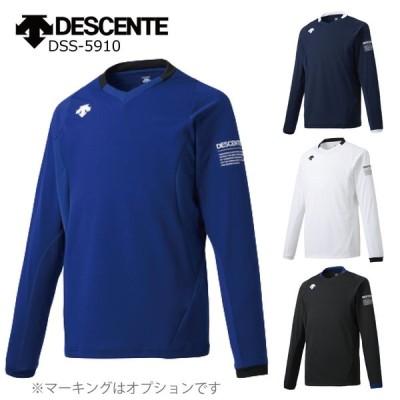 デサント バレーボール ユニフォーム オーダー 長袖ライトゲームシャツ ユニセックス チーム名・背番号等マーキング できます(別料金) DSS-5910