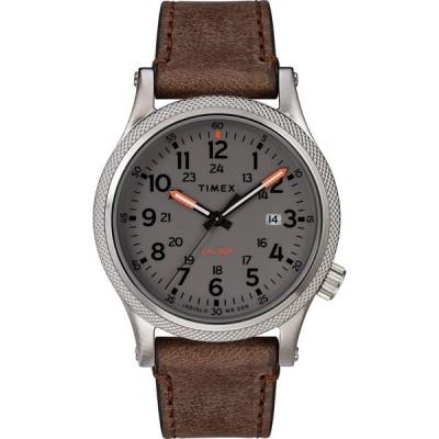 腕時計 タイメックス メンズ TW2T33300 Timex Allied LT 40 mm Leather Strap Watch TW2T33300