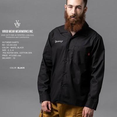 ヴァルゴ VIRGO OUTSIDER SHIRTS ボーリングシャツ vg20aw