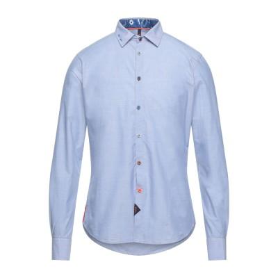 KOON シャツ ブルー M コットン 100% シャツ
