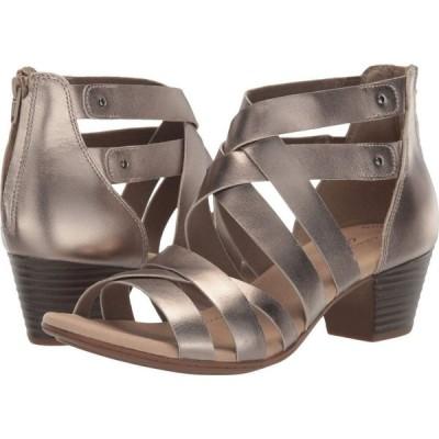 クラークス Clarks レディース サンダル・ミュール シューズ・靴 Valarie Dream Pewter Leather