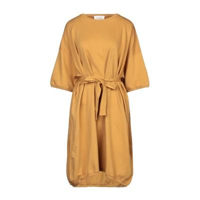 アメリカン ヴィンテージ AMERICAN VINTAGE ミニワンピース&ドレス オークル XS/S コットン 100% ミニワンピース&ドレス