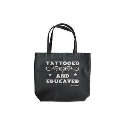 ハンドバッグ・財布 レディース 海外セレクション Rudechix Tattooed And Educated Tote Tattoo Ink Inked Lifestyle