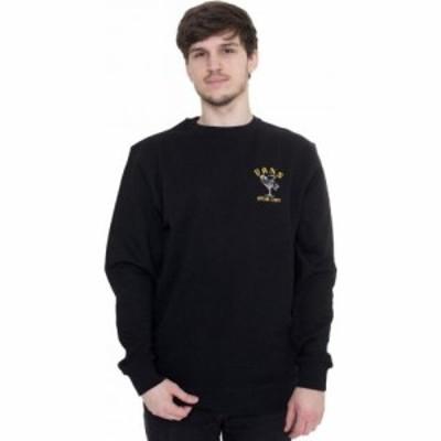 ヴァンズ Vans メンズ スウェット・トレーナー トップス - Speak Easy Crew Black - Sweater black