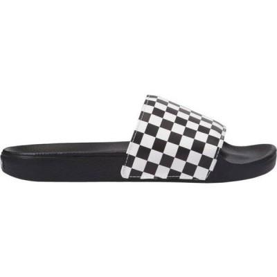 バンズ メンズ サンダル シューズ Vans Slide On Checkerboard Slides