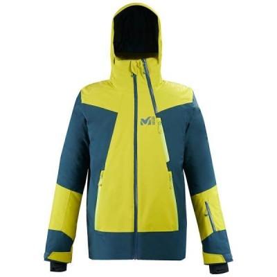 ジャケット メンズ スキーウェア パーカー メンズ ALAGNA STRETCH JKT M WILD LIME/ORION BLUE  (JSM)