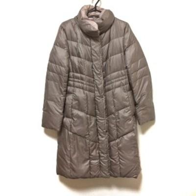 アンタイトル UNTITLED サイズ2 M レディース 美品 グレー×ピンク リバーシブル/冬物【中古】20210601