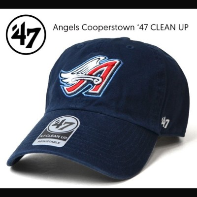 47BRAND フォーティーセブン ブランド ANGELS COOPERSTOWN 47 CLEAN UP CAP クリーンナップ キャップ 帽子