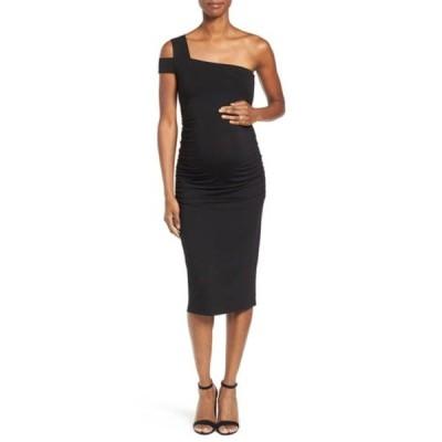 イザベラオリバー ワンピース トップス レディース Brunswick Maternity Dress Caviar Black