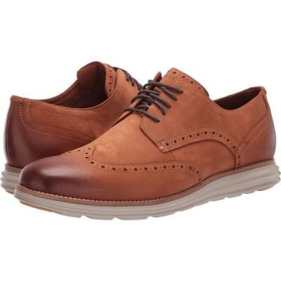 コールハーン Cole Haan メンズ 革靴・ビジネスシューズ ウイングチップ シューズ・靴 Original Grand Wingtip Oxford CH British Tan Nubuck/Hawthorn