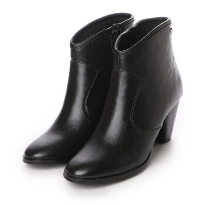 【レイン対応】フォーパ パリ FAUX PAS PARIS HEEL SHORT BOOTS (Black)