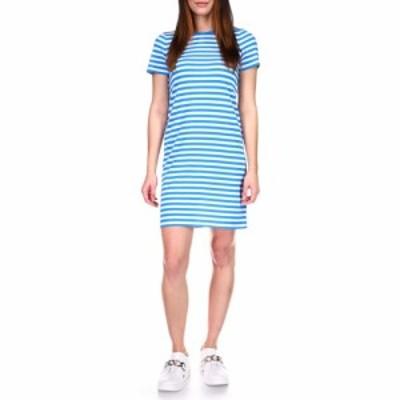 マイケル コース MICHAEL Michael Kors レディース ワンピース Tシャツワンピース ワンピース・ドレス Stripe Mini T-Shirt Dress Bright