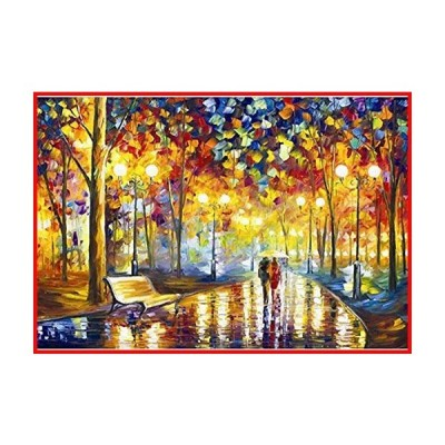 Hartop 木製ジグソーパズル 1000ピース 大人向け風景の風景 ジグソーパズル エンターテイメント DIY おもち