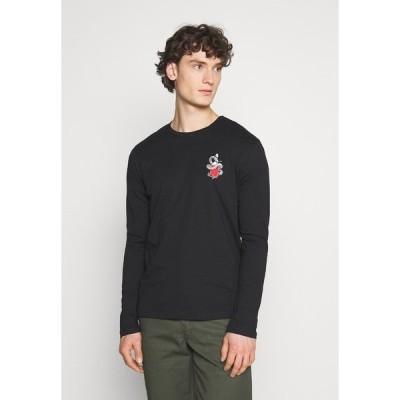ユアターン Tシャツ メンズ トップス UNISEX - Print T-shirt - black
