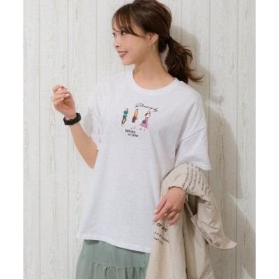tシャツ Tシャツ 3GIRLS Tシャツ