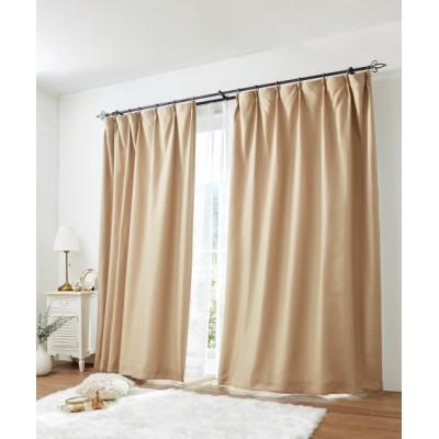 遮光裏地付きワッフルカーテン&レース4枚セット カーテン&レースセット, Curtains, sheer curtains, net curtains(ニッセン、nissen)