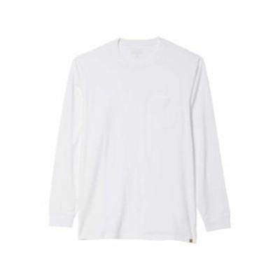 ペンドルトン メンズ シャツ トップス Deschutes Long Sleeve Pocket Tee White
