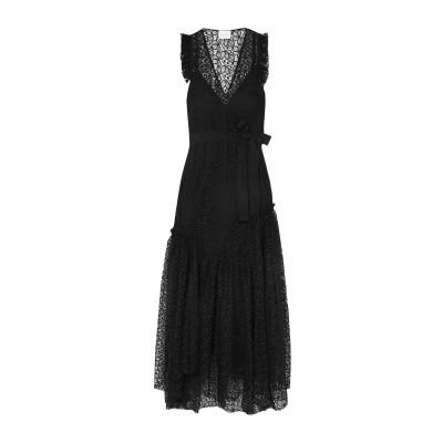 アリスマッコール ALICE McCALL ロングワンピース&ドレス ブラック 8 ポリエステル 100% / コットン / レーヨン ロングワンピ