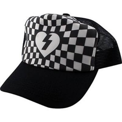 ミステリー MYSTERY キャップ Patch ?Mesh Hat ブラックxホワイト NO11
